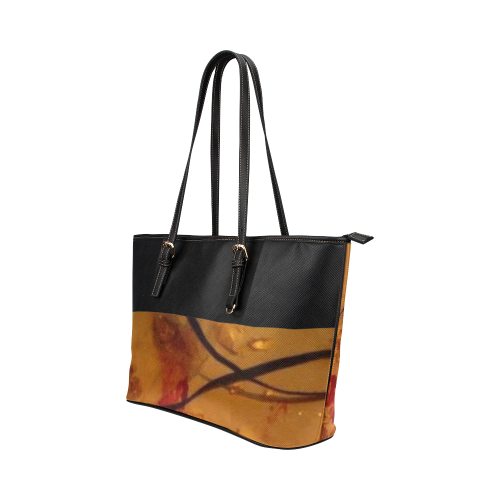SERIPPY Leather Tote Bag/Small (Model 1651)
