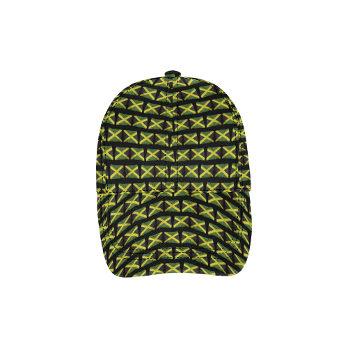 Jamaican Flags All Over Print Dad Cap C (6-Pieces Customization)