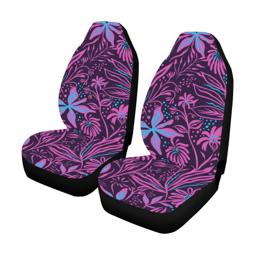 Pink Flower Dream Car Seat Covers (Set of 2)