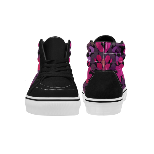 zappwaits 107 Women's High Top Skateboarding Shoes (Model E001-1)