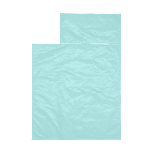 color pale turquoise Kids' Sleeping Bag