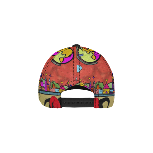 Nürnberg Popart by Nico Bielow All Over Print Dad Cap C (7-Pieces Customization)