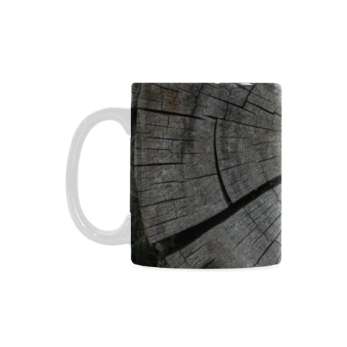 Old Log Custom White Mug (11OZ)