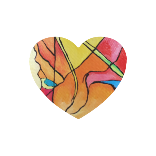 ABSTRACT Heart-shaped Mousepad