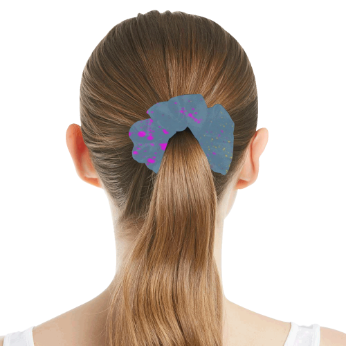 Color by Nico Bielow All Over Print Hair Scrunchie