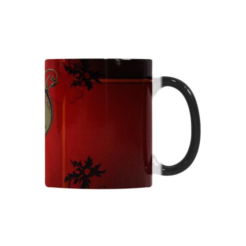 Wonderful decorative heart Custom Morphing Mug (11oz)