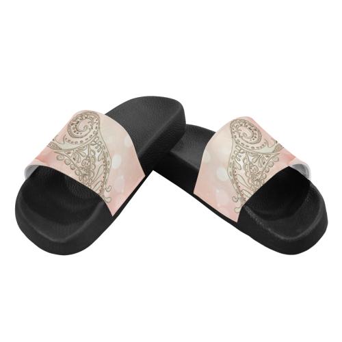 Wonderful flowers Men's Slide Sandals (Model 057)