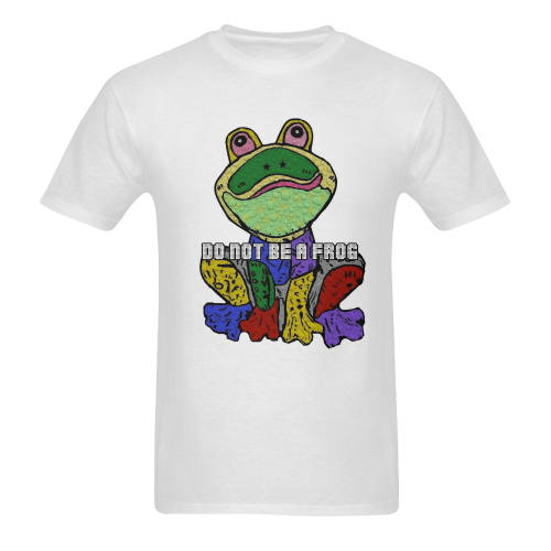 Dont by Frog by Nico Bielow Men's T-shirt in USA Size (Two Sides Printing) (Model T02)
