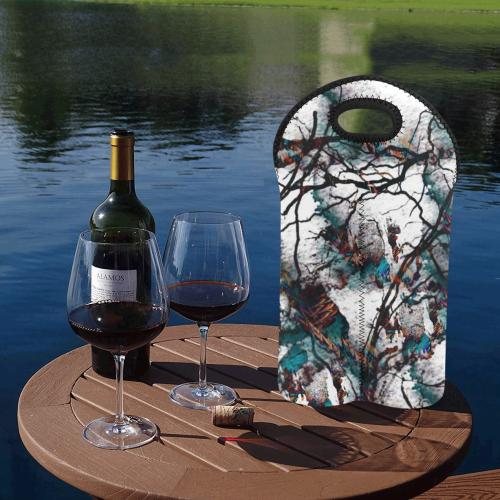 My Fantasy World 2 by JamColors 2-Bottle Neoprene Wine Bag