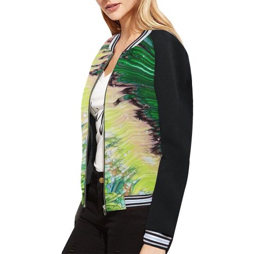 june baby jacket All Over Print Bomber Jacket for Women (Model H21)
