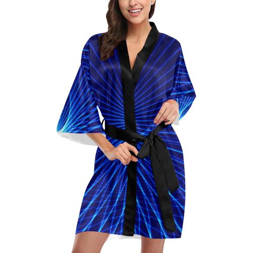 wave Kimono Robe