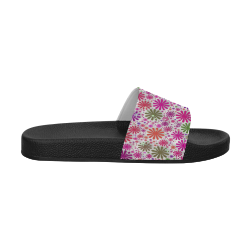 lovely shapes 3A by JamColors Women's Slide Sandals (Model 057)