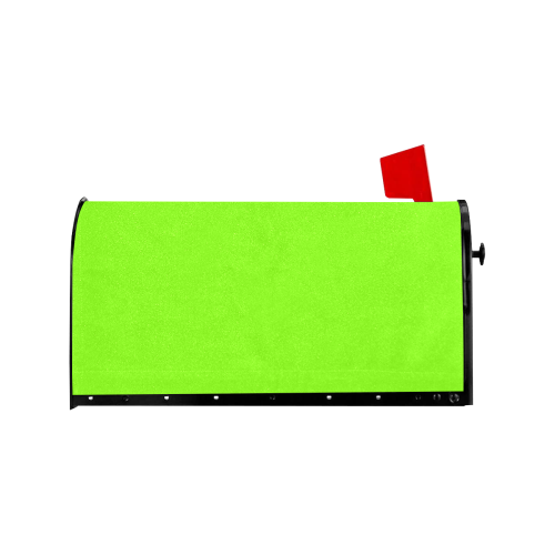 color chartreuse Mailbox Cover