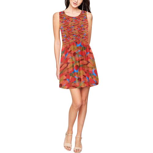zappwaits  trendy 02 Thea Sleeveless Skater Dress(Model D19)