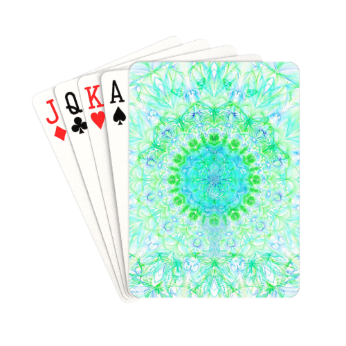 "petales 3 Playing Cards 2.5""x3.5"""