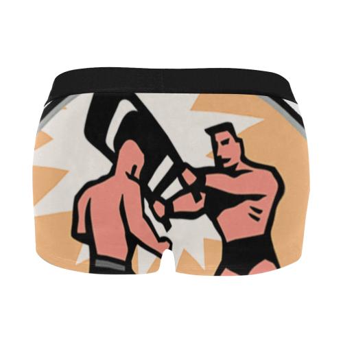Chair Shot - orig Men's All Over Print Boxer Briefs/Short Size (Model L22)