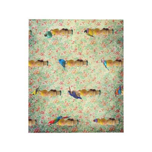 "Daisy's Birds Quilt 50""x60"""