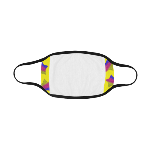 ombre glitter  star pattern Mouth Mask