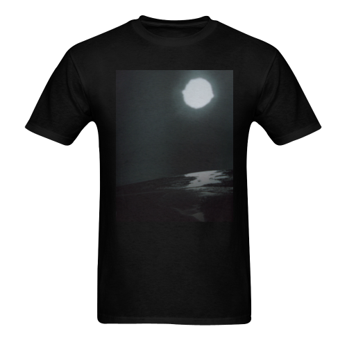 moonlight glimmer Men's T-shirt in USA Size (Front Printing Only) (Model T02)