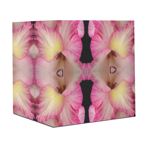 "Flowers: Pink and Yellow Gladiolus Gift Wrapping Paper 58""x 23"" (1 Roll)"