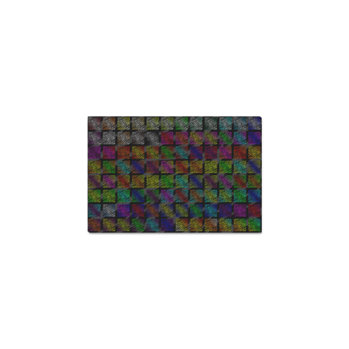 """Ripped SpaceTime Stripes Collection Canvas Print 12""""x8"""""""