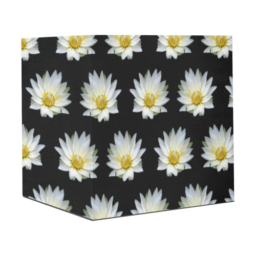 "Flowers: White Waterlilies with Dew Drops Gift Wrapping Paper 58""x 23"" (1 Roll)"