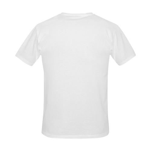 chickenkoreanshirtmen Men's Slim Fit T-shirt (Model T13)