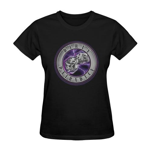Purple Skanker Tee Sunny Women's T-shirt (Model T05)