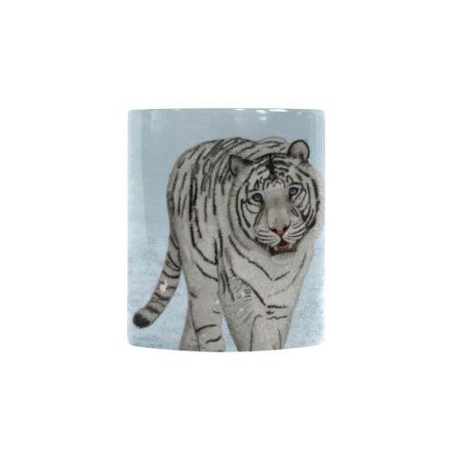 Wonderful siberian tiger Custom Morphing Mug (11oz)