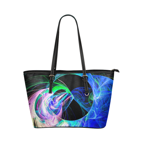 zappwaits 012 Leather Tote Bag/Small (Model 1651)