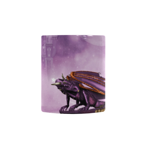 Wonderful violet dragon Custom Morphing Mug (11oz)