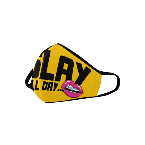 SLAY MASK YELLOW Mouth Mask