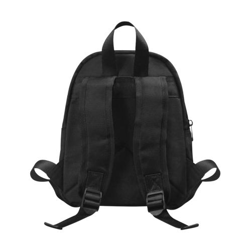 Anaiah Rainbow Book Bag Fabric School Backpack (Model 1682) (Small)
