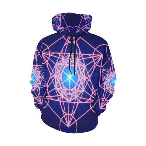 Destiny Metatron All Over Print Hoodie for Men/Large Size (USA Size) (Model H13)