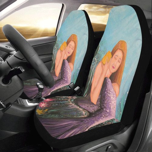 Mermaid Under The Sea Car Seat Covers (Set of 2)