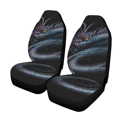 Dragon Swirl Car Seat Covers (Set of 2)