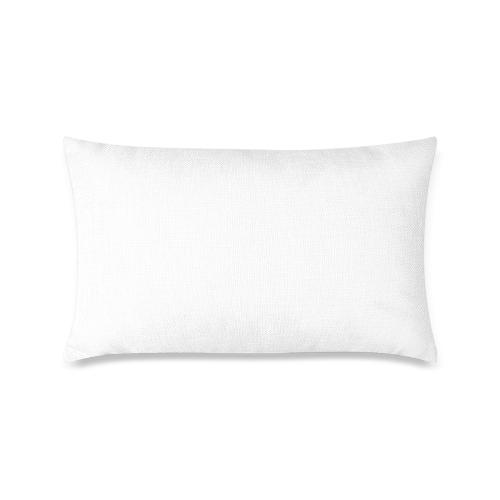 "Alphabet Q by Jera Nour Custom Zippered Pillow Case 16""x24""(One Side Printing)"