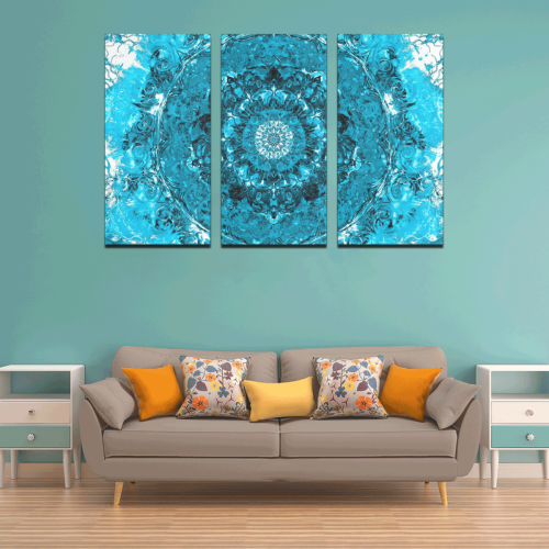 light and water 2-14 Canvas Wall Art X (3 pieces)