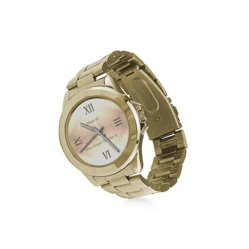 Golden Wood Custom Gilt Watch(Model 101)