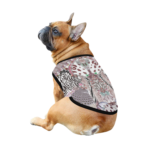july 2 All Over Print Pet Tank Top