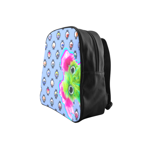 PopArt Salty BangBang School Backpack (Model 1601)(Small)