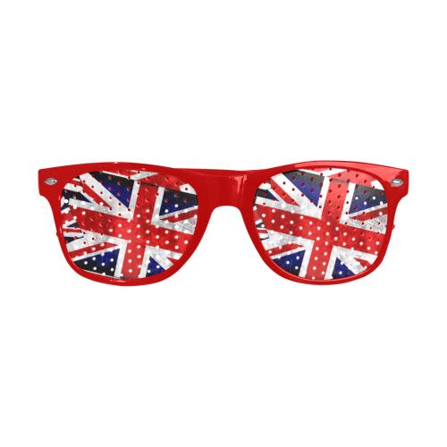 Union Jack British UK Flags Custom Goggles (Perforated Lenses)