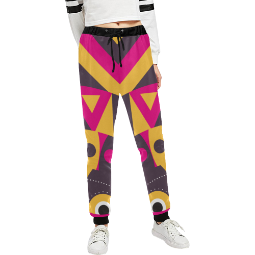 aboriginal tribal Unisex All Over Print Sweatpants (Model L11)