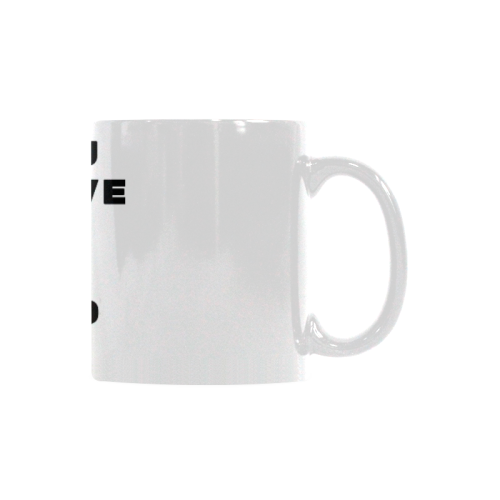 Coffee Cup Mug Number One Custom White Mug (11oz)