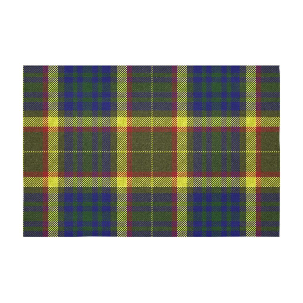 Arkansas Traveler Tartan Cotton Linen Tablecloth 60 X 90 Id D3176423