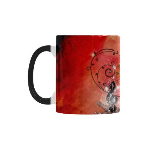 Fairy with clef Custom Morphing Mug (11oz)