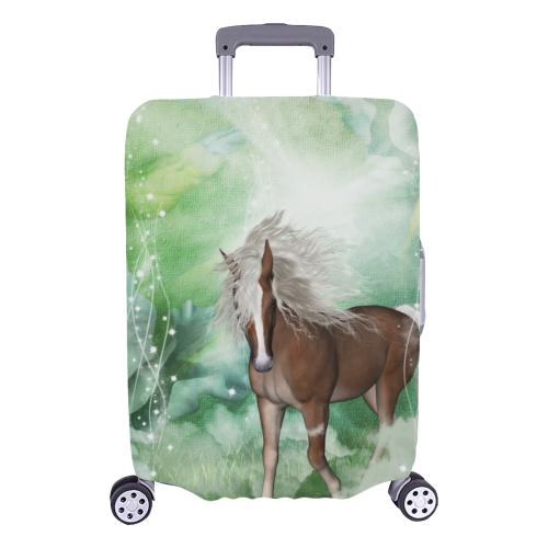 """Horse in a fantasy world Luggage Cover/Large 26""""-28"""""""