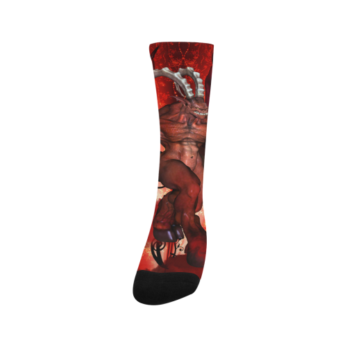 Awesome fantasy creature Trouser Socks (For Men)