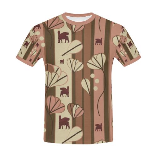 Lamassu Fest All Over Print T-Shirt for Men/Large Size (USA Size) Model T40)