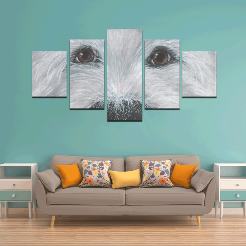 Nosey Canvas Wall Art Z (5 pieces)